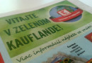 Cestička Zeleným Kauflandom